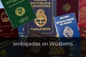 Embajadas en Wüstems