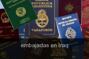 Embajadas en Iraq